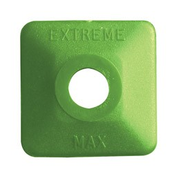 Extreme Square Green Plastic 48 pack