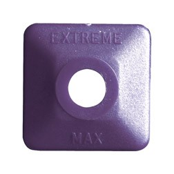 Extreme Square Purple Plastic 48 pack