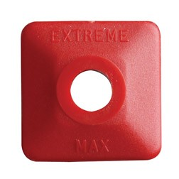 Extreme Square Red Plastic 24 pack