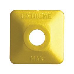 Extreme Square Yellow Plastic 24 pack