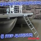 Extreme Max 5 Step UnderMount Pontoon Ladder